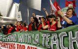 اعتصاب هزاران معلم در لس آنجلس بابت دستمزد پائین
