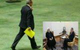 طوفان خبر  تمام شد. روحانی با استعفای وزیر آموزش و پرورش  موافقت کرد