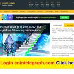 Login cointelegraph.com Click here