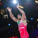 ساروی قهرمان جهان شد